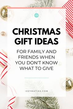 13 Christmas Gift Ideas For Family & Friends When You Don't Know What To Give   Holiday Gift Guide 2020 - Izzy Matias Christmas Gift Guide, Christmas Shopping, Holiday Gifts, Christmas Gifts, Help Me Grow, Miniature Plants, Business Website, Friends Family, Creative Business