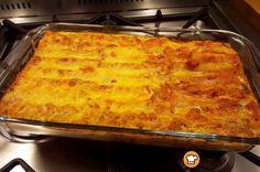 Κανελόνια με κιμά και κρέμα γάλακτος #sintagespareas #kaneloniamekima Yams, Lasagna, Summer Time, Macaroni And Cheese, Food And Drink, Cooking Recipes, Pasta, Lunch, Dishes