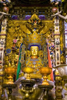 Sera Monastery, near Lhasa, Tibet