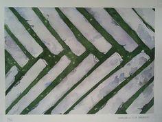 WaterColourSundayMan: Selciato in marmo2.10.16  Carta Arches satinata, 2...