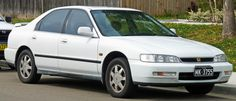4. My Mother's Car...1997 Honda Accord..(A little note the license plate is not hers for this is not actually her car but just the model) #SomebodysMothers