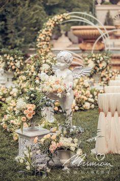 W小姐的花园婚礼_婚礼_花园_小红书