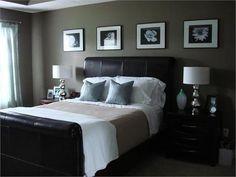 Dark Bedroom Design Ideas dark bedroom design with wall accessories – Fun Design…