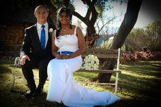 Our very happy bridal Couple - Vasi and Janusz @ Mokoya Lodge