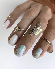 Chic Nails, Stylish Nails, Trendy Nails, Dream Nails, Love Nails, Manicure And Pedicure, Gel Nails, Chic Nail Designs, Glitter Nail Designs