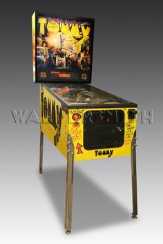 1994 Tommy - Pinball Wizard Pinball Machine