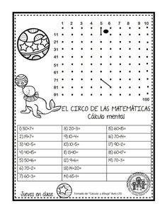 EXCELENTE CUADERNO PARA TRABAJAR UNA SEMANA EL CIRCO DE LAS MATEMÁTICAS - Imagenes Educativas Daily Challenges, Math For Kids, Busy Book, Worksheets, Homeschool, Inspirational Quotes, Classroom, Coding, Teaching