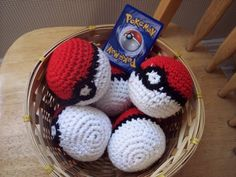 Gotta Catch them All! We only have one and it is just not enough! Pokeball  set of 6 by karenswimmer on Etsy, $25.00