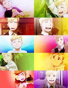Aw, Alphonse is a little cutie.