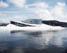 Snøhetta  Il Teatro dell'Opera di Oslo