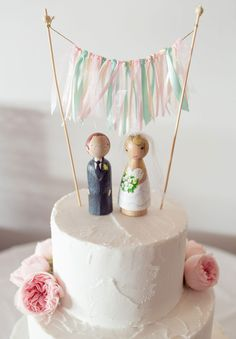 My clients Prue & Scott Fitzsimmons' Wedding Cake... Simply Divine & featured in 'Hello May' Blog Nov 13