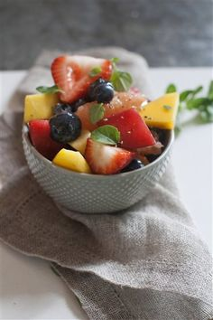 Recipe: Give fruit salad a zing with honey and black pepper