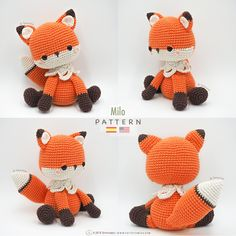 Fox Tarturumies Crochet Pattern PDF Milo the Fox : Amigurumi Fox Tarturumies Crochet Pattern PDF Milo the Fox foxAmigurumi Fox Tarturumies Crochet Pattern PDF Milo the Fox : Amigurumi Fox Tarturumies Crochet Pattern PDF Milo the Fox fox Amigurumi Elephant, Amigurumi Fox, Crochet Fox, Crochet Animals, Crochet Patterns Amigurumi, Crochet Dolls, Fox Pattern, Stuffed Toys Patterns, Crochet Projects