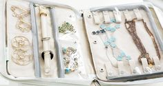 Use a Jewelry Armoire To Store Your Precious Jewelry Pieces Jewelry Roll, Jewelry Case, I Love Jewelry, Diy Jewelry, Jewelry Making, Jewelry Pouches, Jewelry Stand, Jewelry Travel Case, Stylish Jewelry