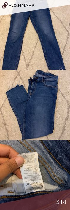RUE21 Women/'s High Rise Button Fly Crop Flare Denim Jeans Size 10 NEW WITH TAGS