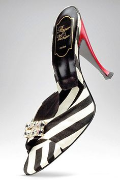 Beautiful Zebra Motif from Roger Vivier Roger Vivier Shoe Collection ...