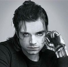 Bucky - I literally screamed when I saw this!