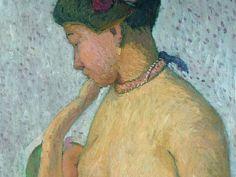 Paula Modersohn-Becker, Mutter mit Kind an der Brust, 1906, von der Heydt-Museum, Wuppertal