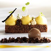 Brownie, Pumpkin and vanilla- Barry Callebaut