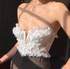 Corset Shirt, Crop Tops, Tank Tops, Camisole Top, Ballet Skirt, Womens Fashion, Skirts, Collection, Vintage