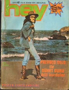 Cem Karaca on the cover of 'Hey' Love this man