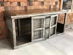 Say goodbye to your ugly wire and plastic dog kennels and bring home our beautiful, custom-made luxury dog kennels. Check out our stylish dog crates; Outdoor Dog Runs, Plastic Dog Kennels, Dog Kennel Designs, Kennel Ideas, Luxury Dog Kennels, Dog Kennel Cover, Pet Hotel, Dog Ramp, Puppy Care