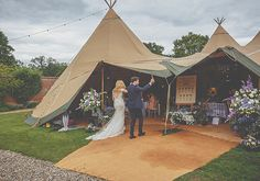 English Secret Garden Wedding (With a Tipi!) is part of Boho garden Wedding - Be inspired by Kate and Tom's beautiful English garden wedding that blends the traditional with the whimsical, with beautiful pics by Howell Jones Photography Tipi Wedding, Outdoor Wedding Reception, Marquee Wedding, Garden Wedding, Wedding Events, Wedding Blog, Wedding Ideas, Wedding Things, Wedding Dresses