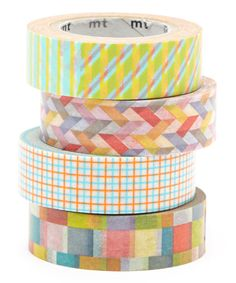 Look at this Four-Piece Sunday's Best Washi Tape Set on #zulily today!