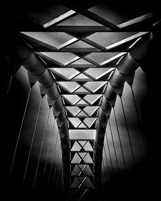 Humber River Pedestrian Bridge Toronto Canada by Brian Carson on 500px