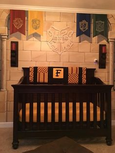 Kaycee, the bub's mum, told BuzzFeed that the room only took about three months to complete. | This Dad Designed A Harry Potter Nursery That Is Magical AF