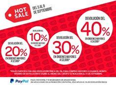 Hot Sale 2014 Clickonero México Hot Sale 2014 ClickoneroHot Sale 2014 Clickonero:  Clickonero ha lanzado sus promociones para este Hot Sale México 2014, se trata básicamente de descuentos dependiendo el monto de la compra.  10% de devolución en compras mayores a $1,000 20% de devolución en compras mayores a $2,000 30% de devolución en compras mayores a $3,000 40% de devolución en compras mayores a $4,000