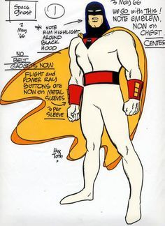 Alex Toth Space Ghost