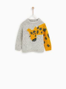 Discover the new ZARA collection online. Baby Knitting Patterns, Baby Sweater Knitting Pattern, Knitting For Kids, Knitting Designs, Cardigan Bebe, Baby Cardigan, Baby Boy Outfits, Kids Outfits, Pull Bebe