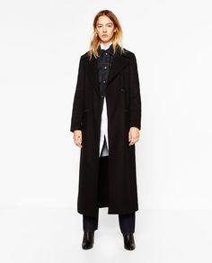 Bild 1 von LONG WOOL COAT von Zara