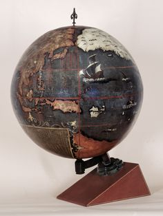 400 Years of Beautiful, Historical, and Powerful Globes | This is the oldest terrestrial globe known to be made in China. It dates to 1623. British Library  | WIRED.com