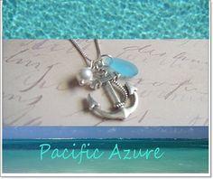 ANCHOR KEEPSAKE GIFT ------  Nautical Wedding Theme, Bridesmaid Necklace, Wedding Party Gift, Anchor Necklace, Anchor Jewelry on Etsy, $20.50