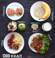 8 дневных рационов на 1300-1500 ккал – Зожник — как похудеть, накачать пресс, чем питаться и другие важные ответы.