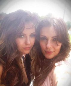 Katherine and Nadia #vampirediaries #TVD