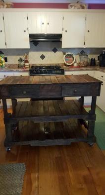 Diy Kitchen Island Pallet the beginner's guide to pallet projects   pallet kitchen island