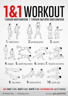 1&1 High Intensity Workout