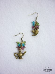 use a charm with tiny beads
