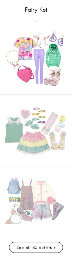 """Fairy Kei"" by roseunspindle ❤ liked on Polyvore"
