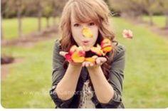 Senior pic ideas. I'd do this with rose petals.