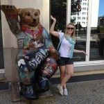 Greetings from Berlin with our summer intern, Abbey Warren. Berlin Wall, Summer, Summer Time, Verano