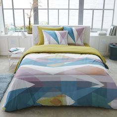 Compre Capa de edredon KALESCOPE Roupa de cama adulto na La Redoute. O melhor da moda online.