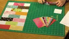Quilting Quickly: Baby Bricks - Baby Quilt Pattern - YouTube