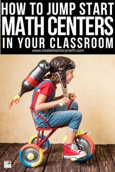 Jump start your math centers with these teaching tips. Math Teacher, Math Classroom, Classroom Organization, Classroom Management, Math Resources, Math Activities, Classroom Resources, Math Games, Classroom Ideas