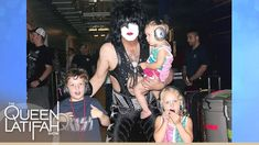 Paul Stanley Faces The Music | The Queen Latifah Show