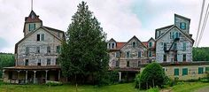 Abandoned Cold Spring Hotel in Upstate, New York...creepy places that I love!!