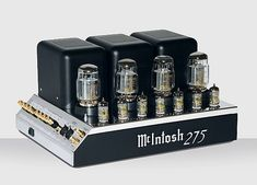 McIntosh MC275 tube power amp